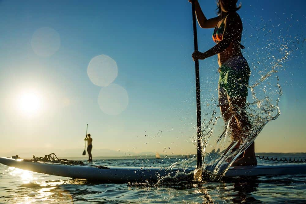 Differences Between Paddle Boarding and Kayaking