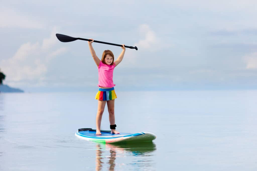 Tips for Youth Paddle Boarders