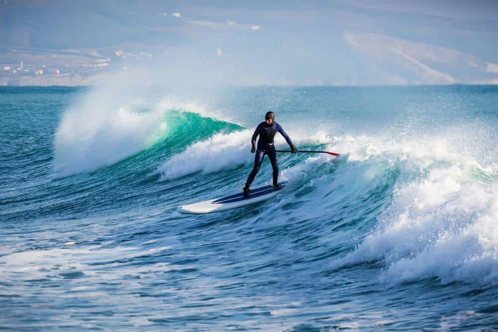 Can You Surf on a Paddle Board?