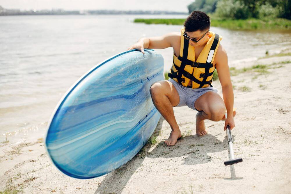 How Long Does It Take To Deflate a Paddle Board